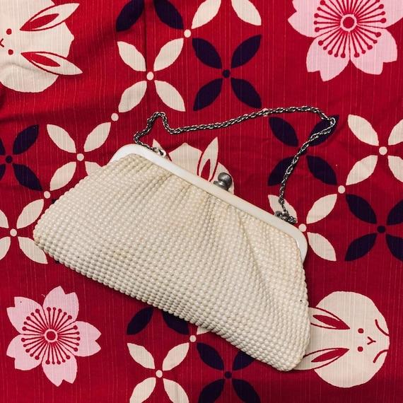 Vintage Beaded Clutch handbag