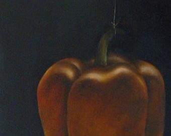 Pepper - Original Oil Painting