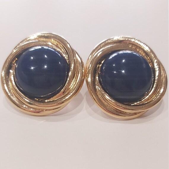 Elegant Trifari lobe earrings
