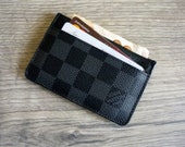 Handmade Leather Card Holder, Cardholder for women, slim card holder, Bi-fold card holder, credit card holder, slim bi-fold wallet,