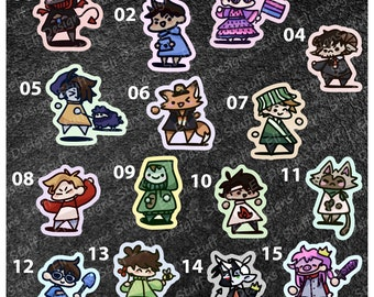 MCYT Chibi Stickers
