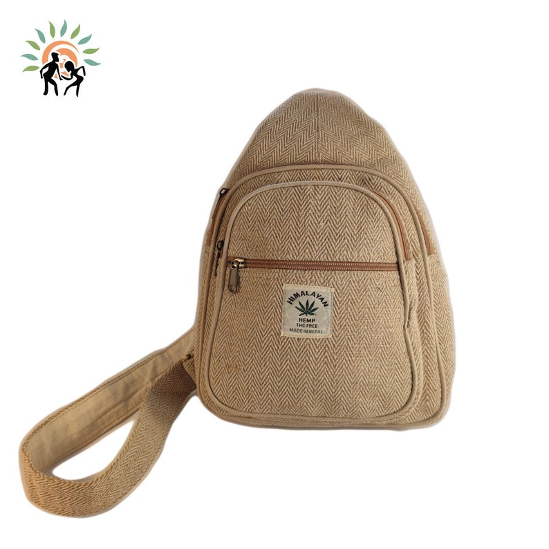 HEMP Made in Nepal Beautiful Backpack