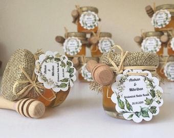 Honey wedding Favors, Honey jar favor, Engagement Gift , Wedding favors, Baby showers favors, Wedding Favors for Gift Guest