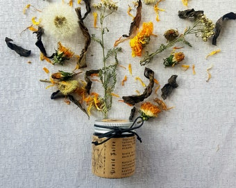 Herbal healing salve | vegan tattoo aftercare | burns, bites & dry skin | Suitable for sensitive skin | Unperfumed | by A Botanical Grimoire