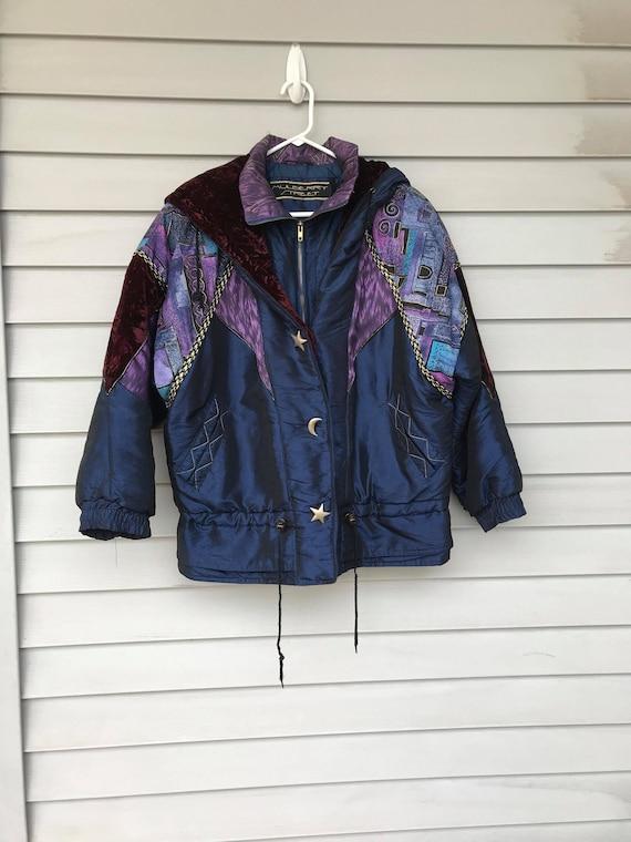 Rare Blue Puffer Coat, Burberry Street Puffer Coat