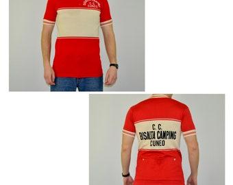 Bianchi T-Shirt Cycling T shirt Printed Vintage bike Retro Printed Jersey Eroica
