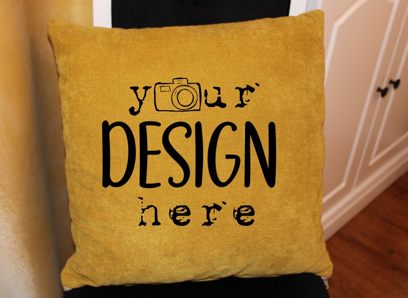 Product Design Living Decorative Pillow Mockup Pillow Mock Up Home Flatlay Styled Chair,Digital Mockups Jpeg Download PillowTemplate
