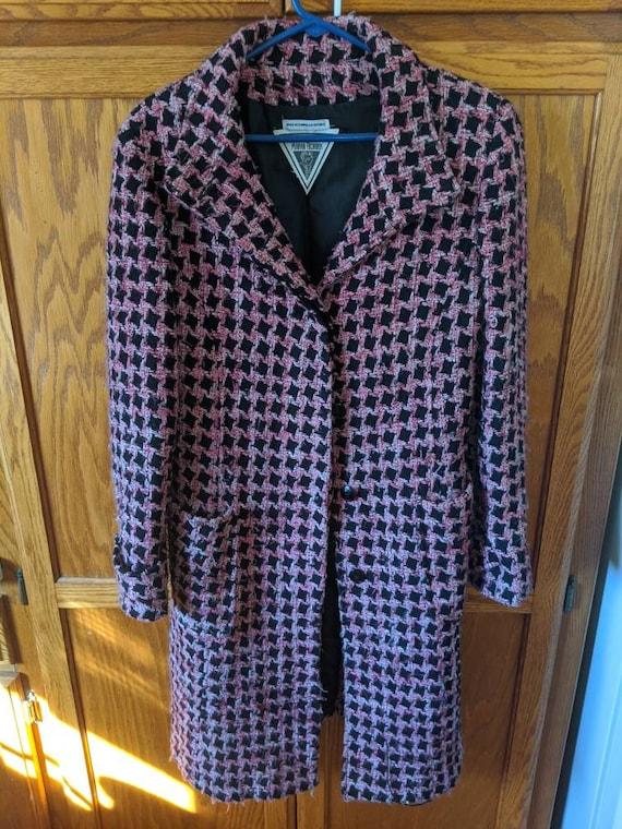 Vintage Houndstooth Coat