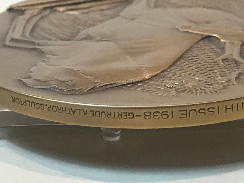 Lathrop LIMITED Striking Amazing Bronze  CONSERVE WILDLIFE  by Gertrude K