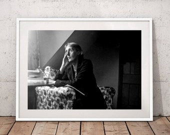 Virginia Woolf Poster Canvas Painting Wall Art Poster Home Decor No Frame