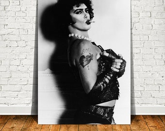 Tim Curry Movie Star Poster Canvas Painting Wall Art Poster Home Decor (No Frame)