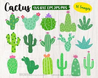 Cactus SVG,Cactus svg files for cricut,Cactus svg Bundle,PNG,DXF,Cactus Cut ifle,Cricut,Silhouette,Commercial use,Instant download_CF57