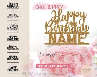 cake topper svg