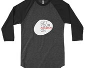Get Your Comic On Classic Logo 3/4 Shirt