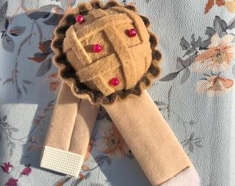 Wrist Pins Cushions Pumpkin Needle Pincushions Wearable Pincushion with Elastic Band for Sewing Quilting Pins Holder Blue SUMAJU Pin Cushion