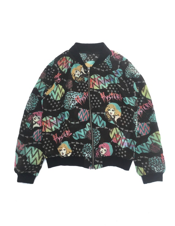 Vintage Hysteric Glamour All Over Print Jacket