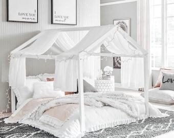 Full Size Montessori House Bed