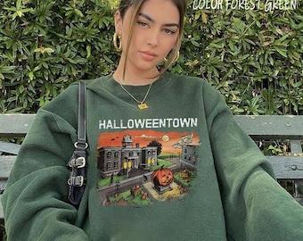 Halloweentown Crewneck Sweatshirt. Halloweentown Sweatshirt, Pumpkin Sweatshirt, Halloween Sweatshirt, Halloweentown Shirt