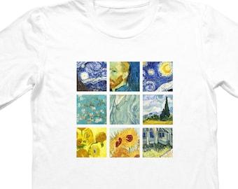Van Gogh Paintings T-shirt, Unisex, Gift For Him, Gift For Her