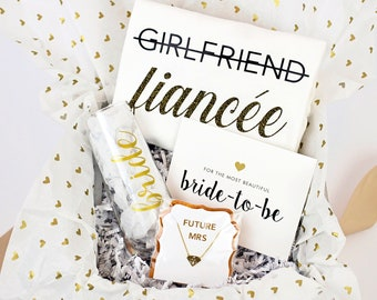 Glam Bride-to-Be Newly Engaged Gift Box