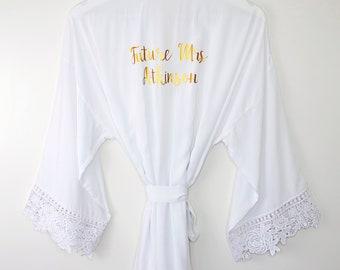 Personalized Bride Robe