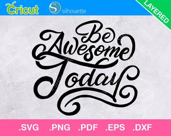 Be Awesome Today Etsy