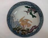 Japanese Imari Porcelain Serving Bowl.