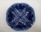 Japanese Imari Porcelain Blue and White Serving Bowl.