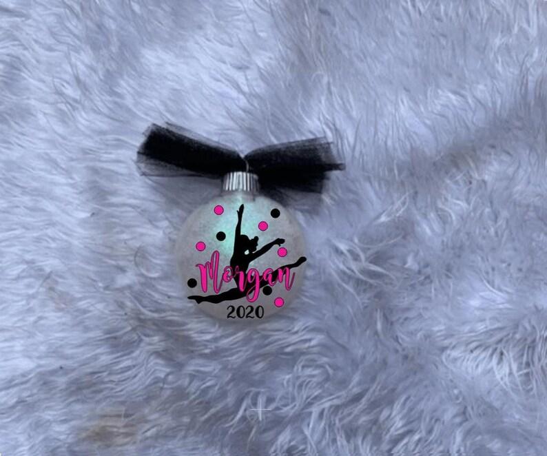 Personalized Ballerina Ornament Dance Team Gift Dance Teacher Gift,Dance Shoes Ornament; Ballerina Ornament Ballet Dancer Ornament