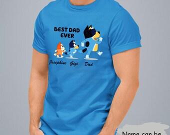 Disney Shirt Bl-ue-y and Bingo Look a like quotes t shirt Bluey disney Shirt Bluey Family Abbey Road Parody Shirt For Fans Bluey T-shirt