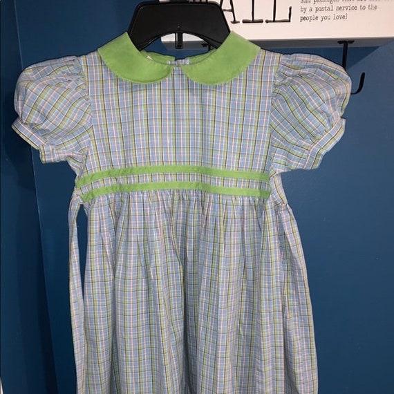 Vintage SIMI Smocked Dress