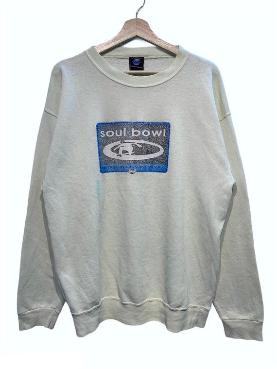 Vintage Soul Bowl Skateboarding Crewneck Sweatshir