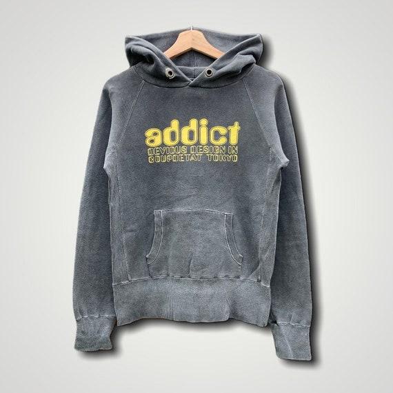 Addict Spellout Pullover Hoodies