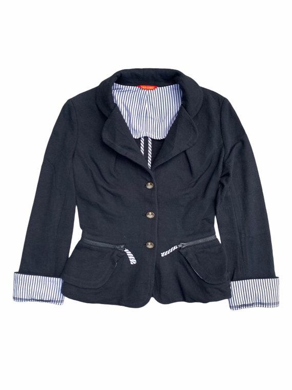 Vivienne Westwood Striped Button Down Blazer