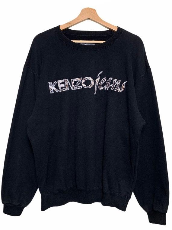 Vintage Kenzo Jeans Embroidered Crewneck