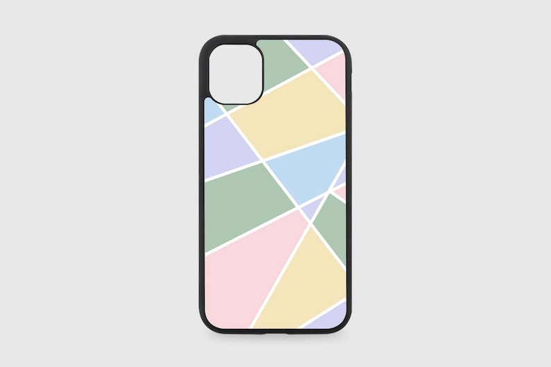 Geometric Wallpaper Style #6 iPhone Case with Optional Pop Up Stand Add On
