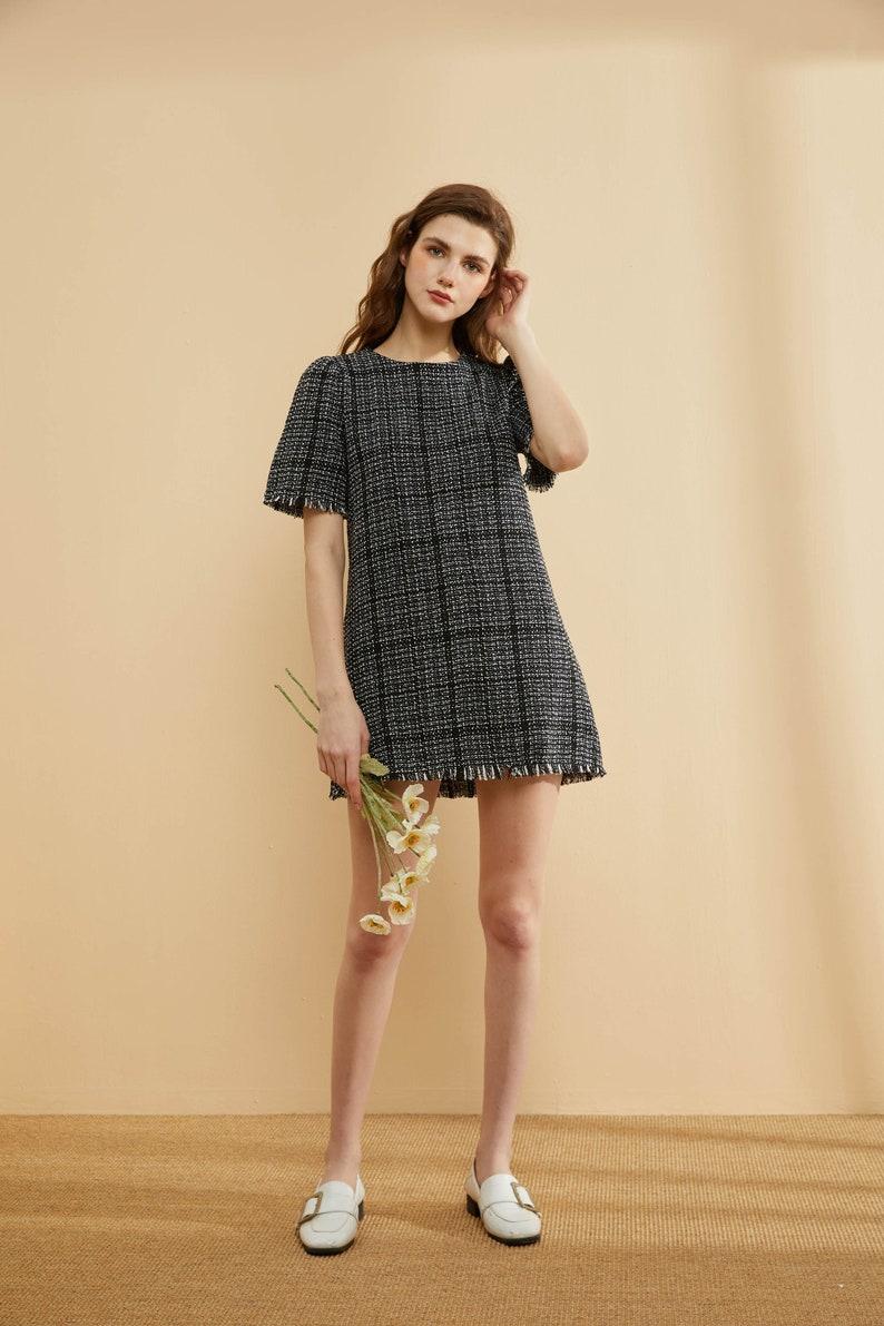 Presale Elegant Tweed Dress