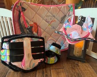 Fairytale saddle pad set