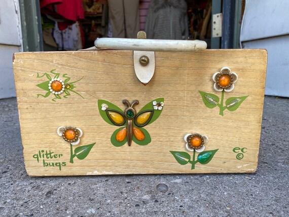 Vintage Handmade Enid Collins Box Bag