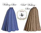 Edwardian Skirts History – 1900 – 1910s 1890s Walking Skirt and Bell Skirt Sewing Pattern | Keystone Guide to Jacket and Dresscutting | PDF Digital Vintage Sewing Pattern $15.00 AT vintagedancer.com