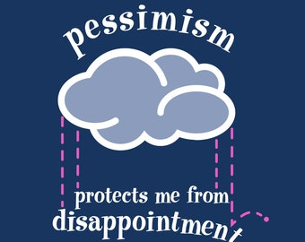 Pessimism print on Ultraboard