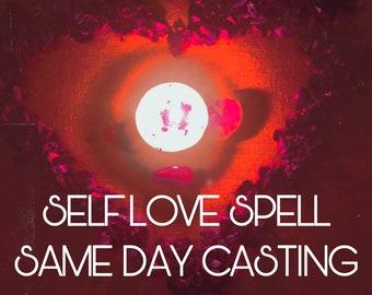 SELF LOVE SPELL- Same day casting