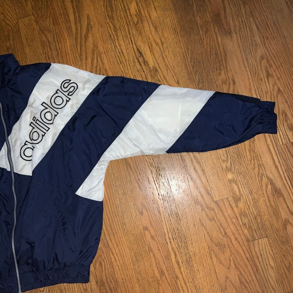 Men's Vintage Adidas 90s Lined Windbreaker - image 3