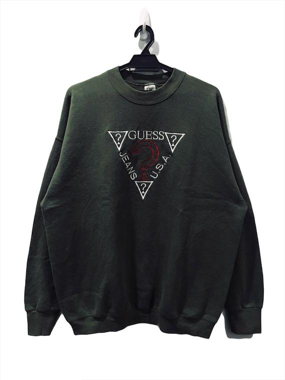 Rare Vintage 90's GUESS Bootleg Sweatshirt