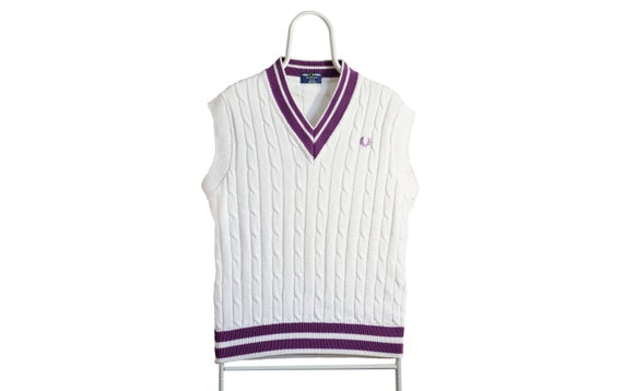 Fred Perry vintage 90s knit vest