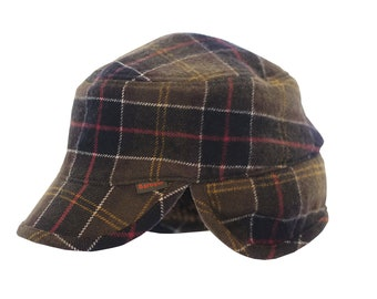Barbour wool / polyester / nylon hat