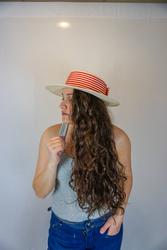 1970s/80s Vintage by the beach hat