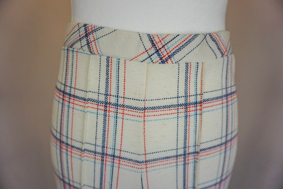 1970s vintage checkered bell bottoms - image 9