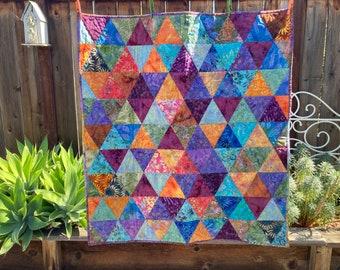 Batik Quilt Etsy