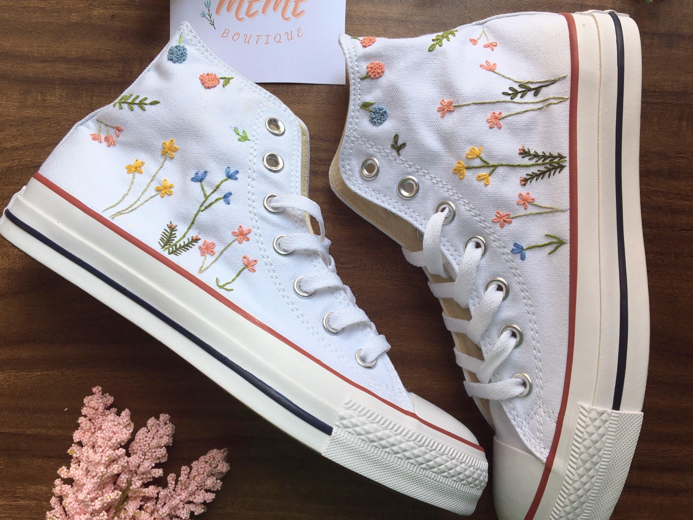 converse flowers